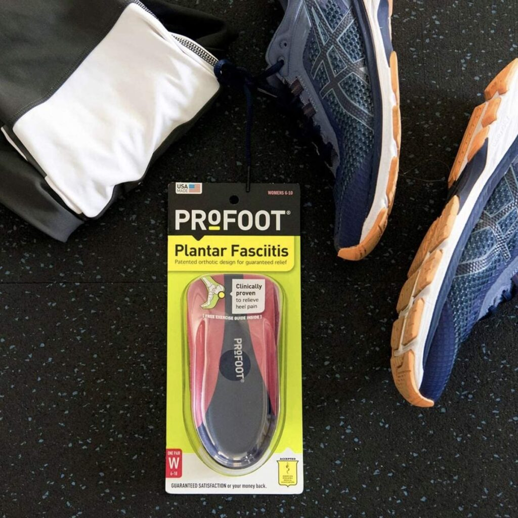 Profoot orthotic insoles: Insoles For Plantar Fasciitis
