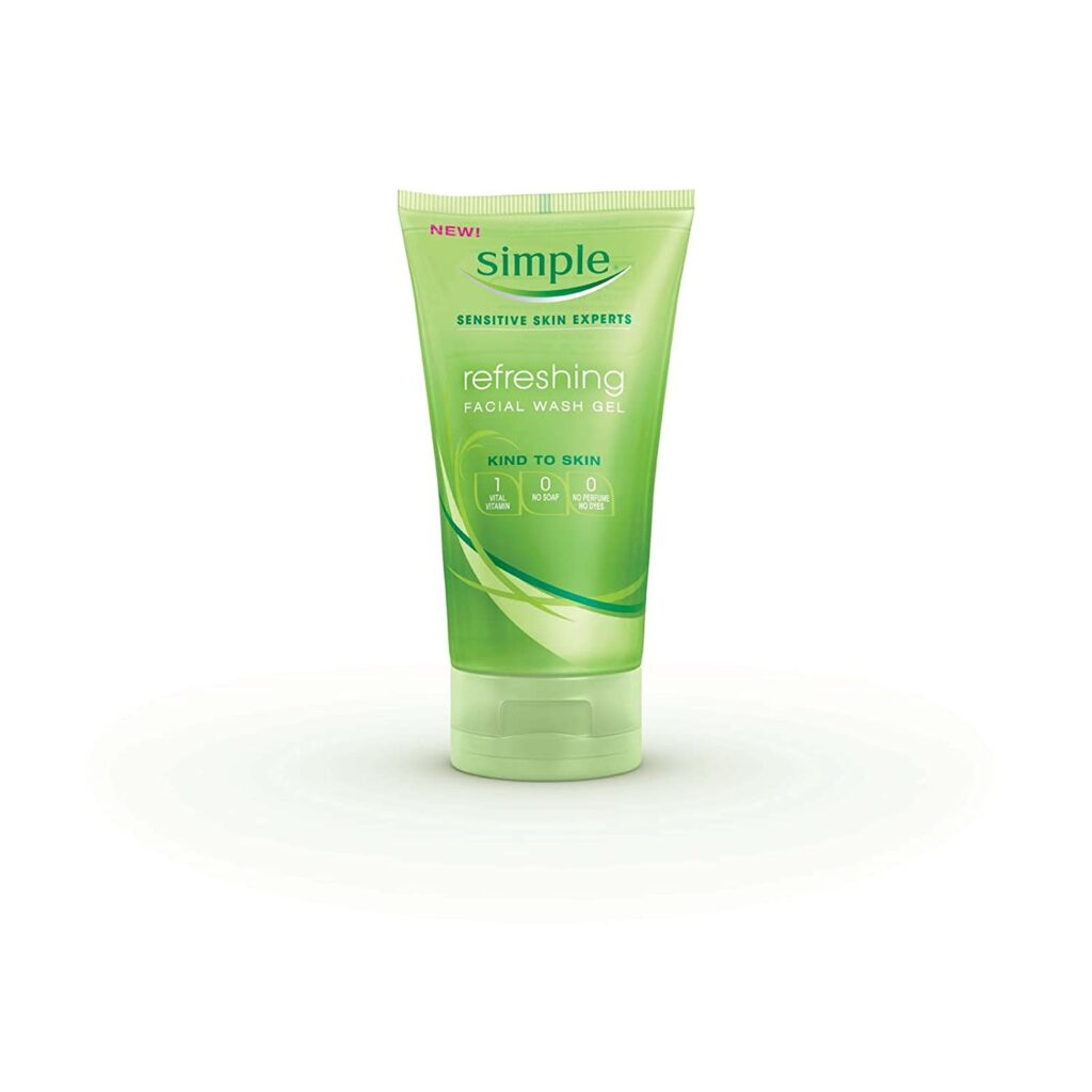 Simple Foaming Facial Cleanser