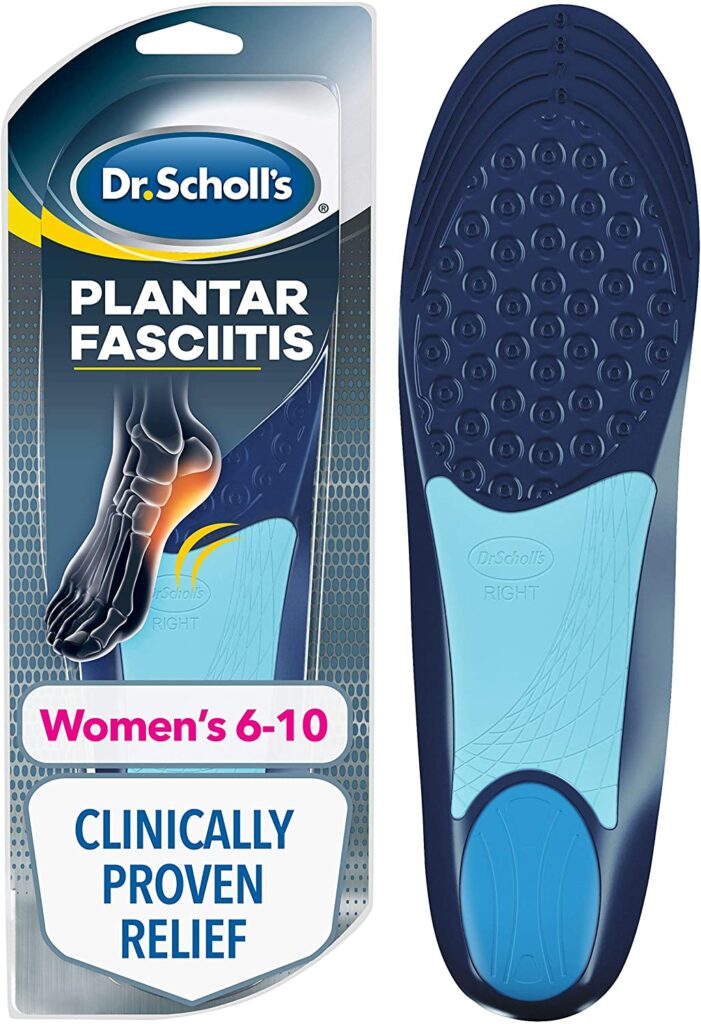 Dr. Scholl's Pain Relief Orthotics for Plantar fasciitis