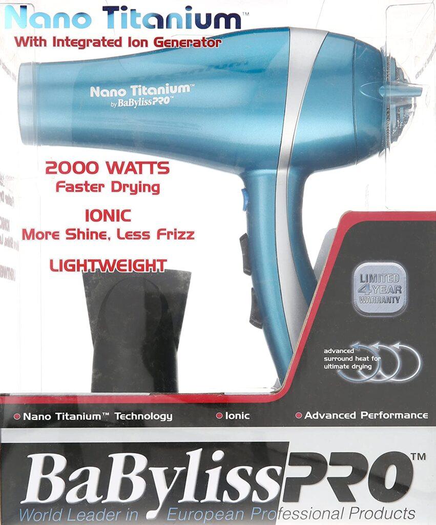 BaBylissPRO Best Blow Dryer For Black Hair