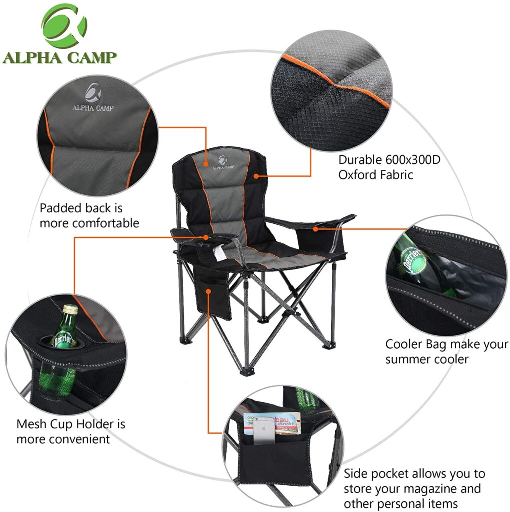 Collapsible camping chair-ALPHA Chair