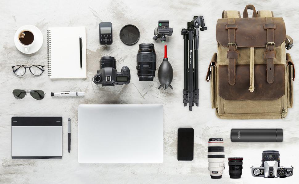 Endura Leather Camera Bag
