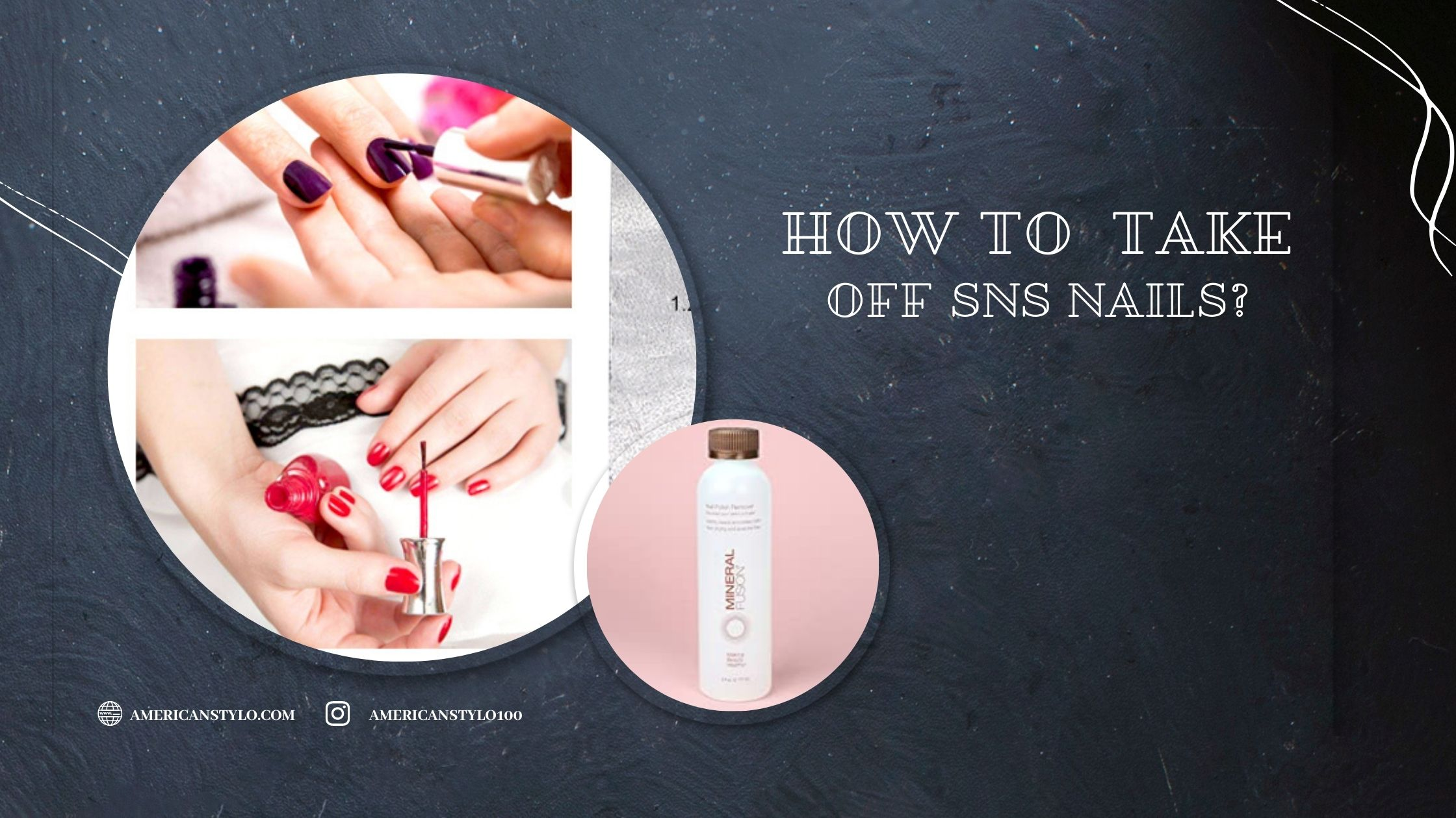 How To Take Off SNS Nails?