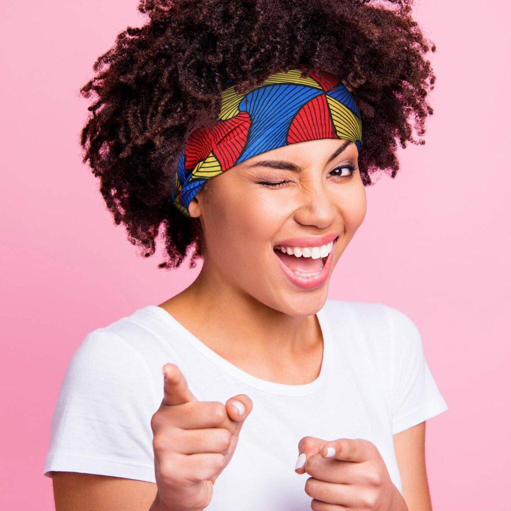 African BOHO Beautiful Printed Headband