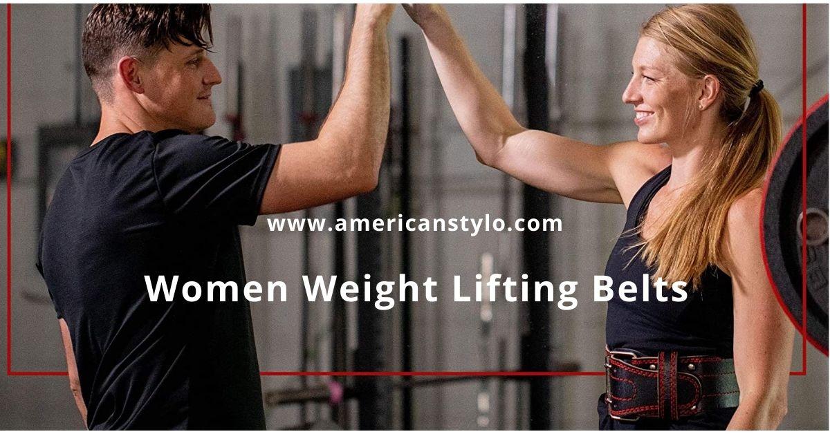 Women Weight Lifting Belts