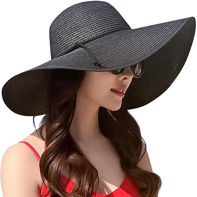 Lanzom Womens large sun hat