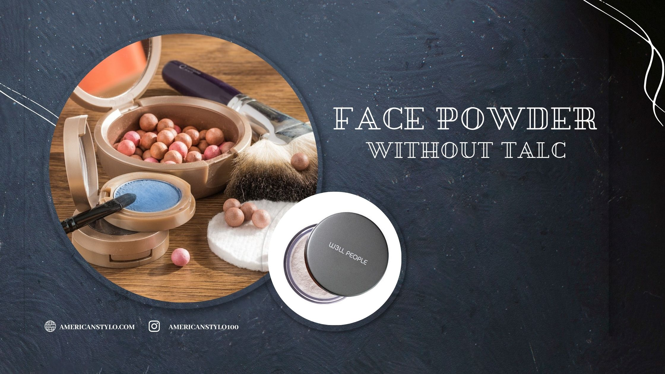 Face Powder Without Talc