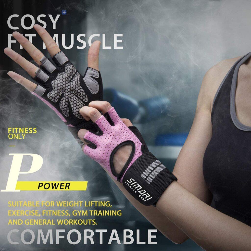 SIMARI women's workout gloves