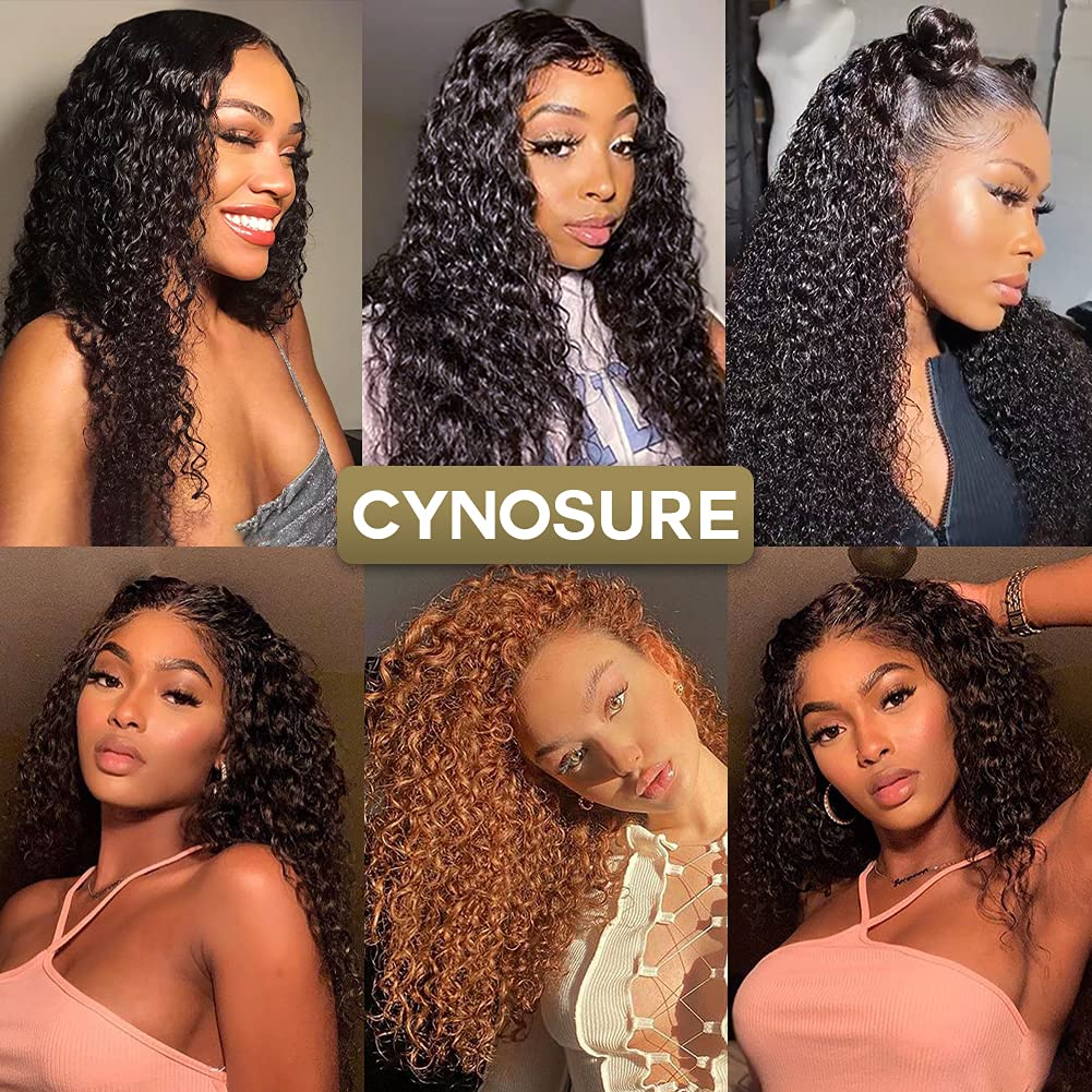 Real hair curly wigs