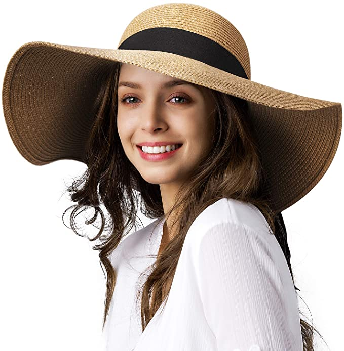 FURTALK womens wide brim hat