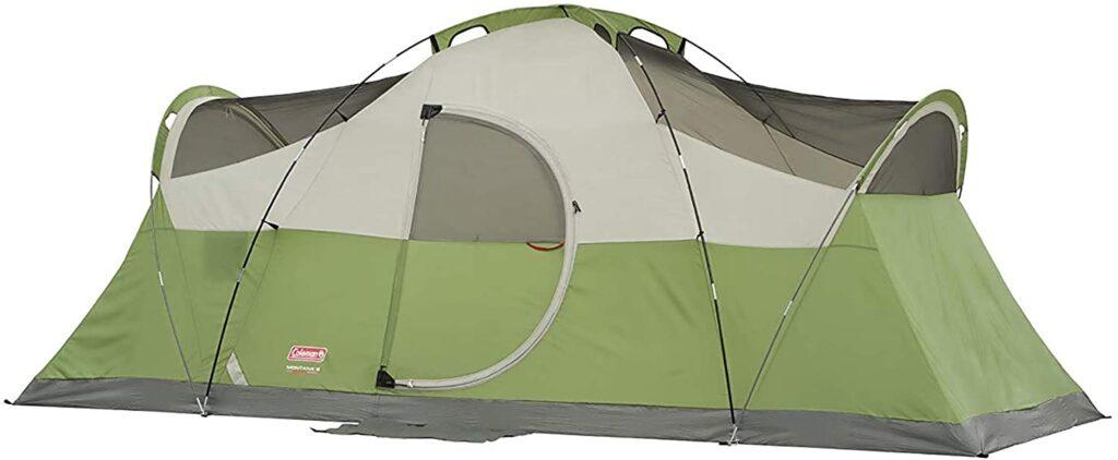 8 person tent with porch- Coleman Elite Montana Tent