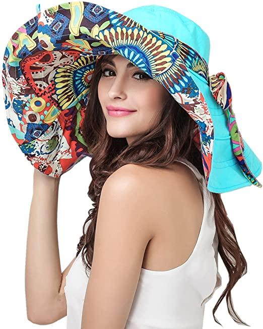 Women's floppy hat for summer