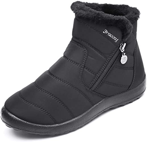 gracosywomen Snow Boots