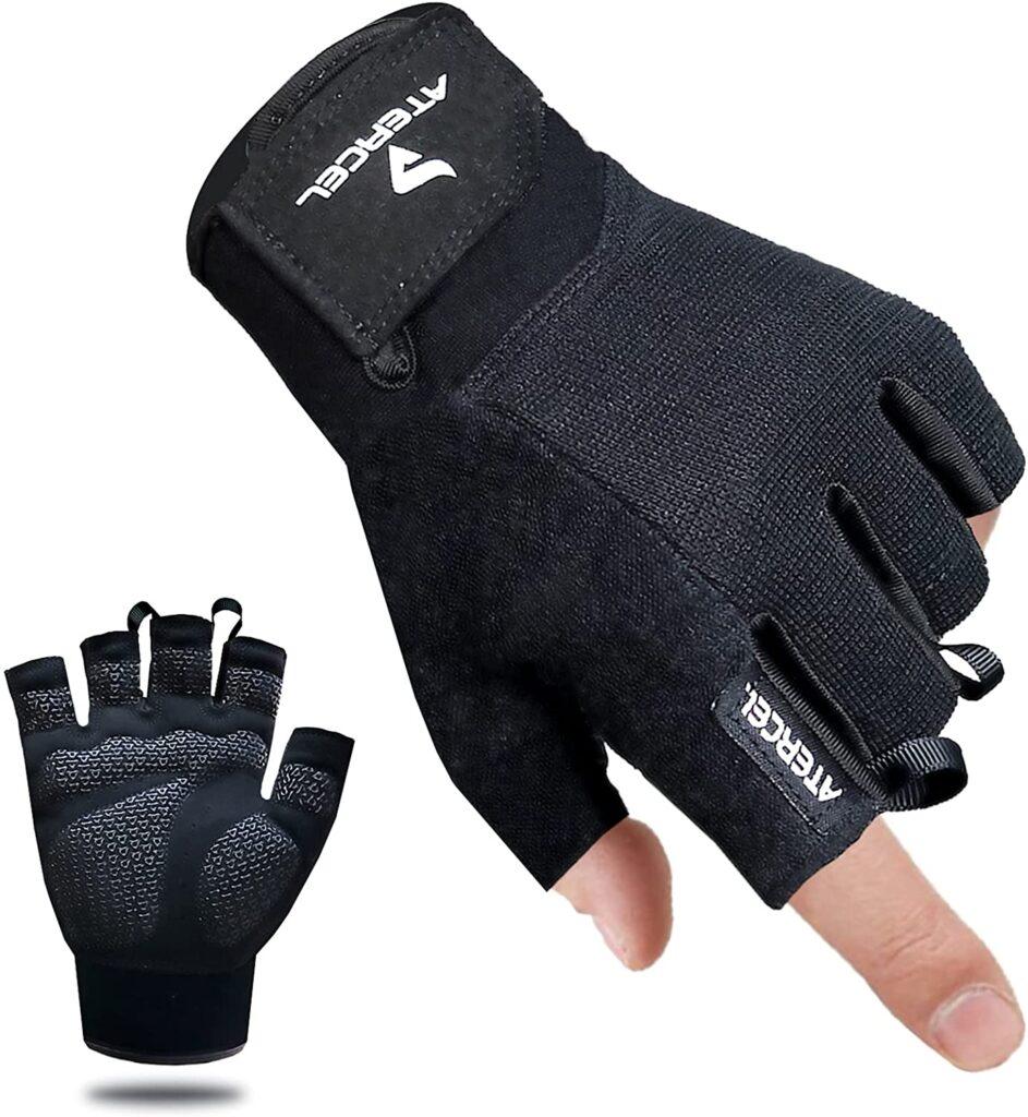 Atercel workout gloves for women.