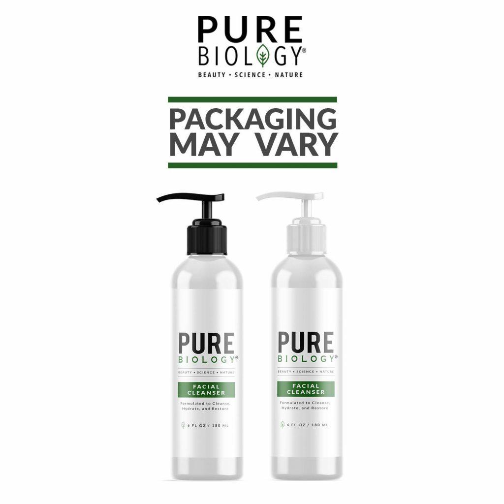 Pure Biology- cleanser for men