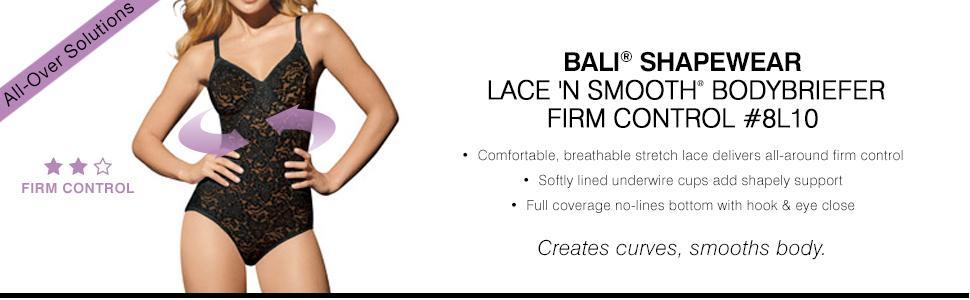 Bali Plus size compression shapewear