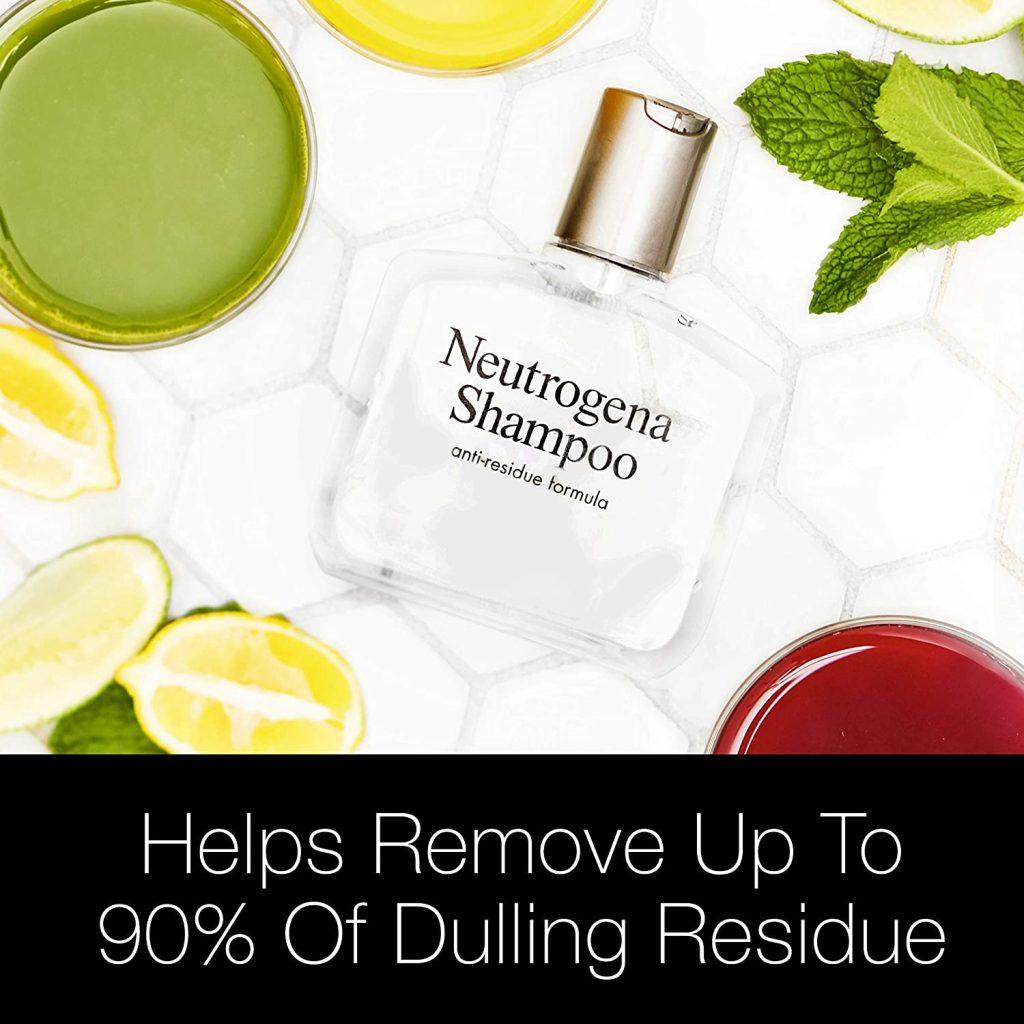 Neutrogena Anti-Residue Shampoo For Black Men