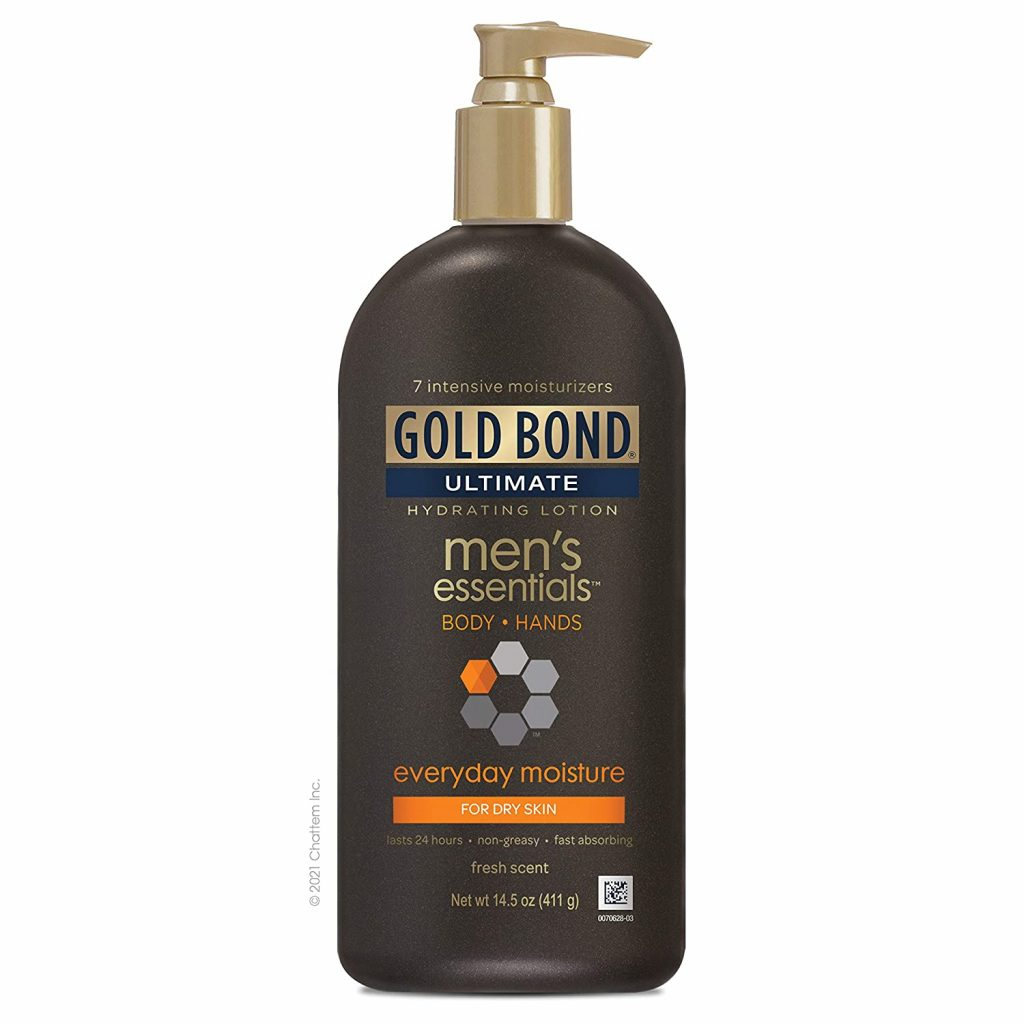 Gold Bond Men's Lotion – Contain vitamins & Proteins